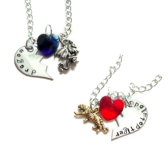 toradora ryuji taiga best friends necklaces