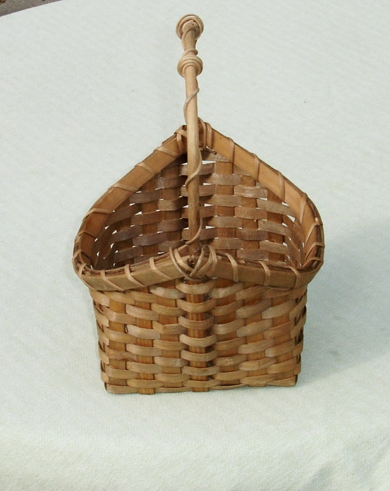 unique wicker basket vintage home decor