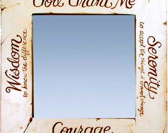 Serenity Prayer Mirror
