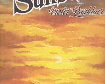 Painting Sunsets - Walter T Foster -  Vintage Craft Book