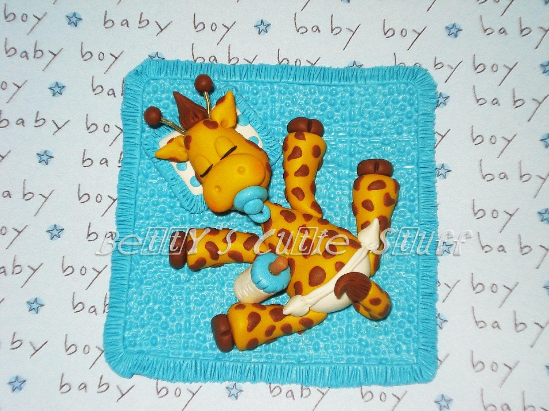 baby shower boy or girl giraffe theme favors souvenirs
