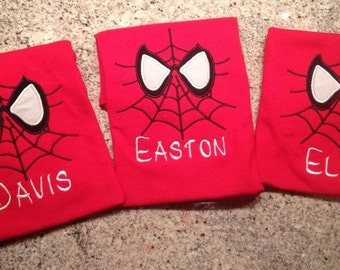 Spiderman Shirt Personalized!