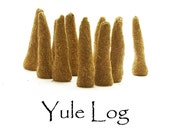 Yule Log Blend, Artisan Hand Made Incense Cones