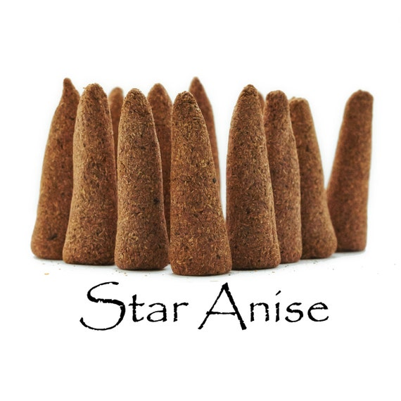 Star Anise Artisan Hand Made Incense Cones