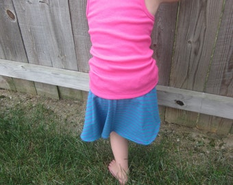 Girls Blue and Purple Skort 3T to size 14