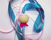 Ribbon wand doll toy hand kite ribbon valentine's gift children