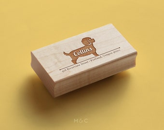 Cavapoo - Personalized Stamp