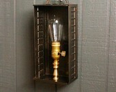 Industrial Wall Lamp, Brass Wall Sconce, Wall Lights, Sconce Lighting, Industrial Sconces, Chandelier Lighting, Steampunk  CS-303