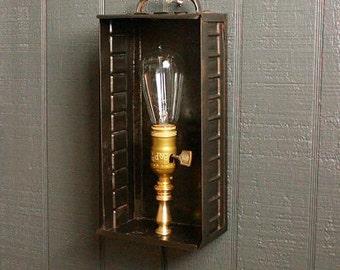 Industrial Wall Lamp, Brass Wall Sconce, Wall Lights, Sconce Lighting, Industrial Sconces, Chandelier Lighting, Steampunk  CS-303