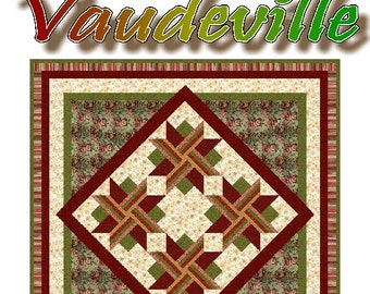VAUDEVILLE - Quilt-Addicts Patchwork Quilt Pattern