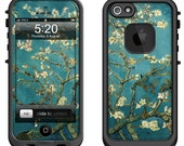Lifeproof iPhone 6 Fre, LifeProof iPhone 5 5S 5C Fre Nuud, Lifeproof iPhone 4 4S Fre Case Decal Skin Cover - Van Gogh Blossoming Almond Tree