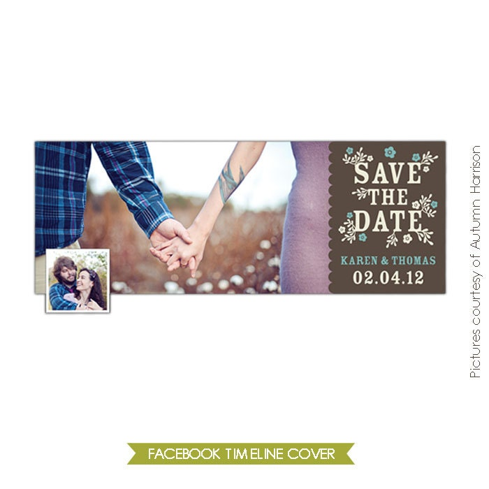 Facebook Timeline Cover Collection Save The Date E385