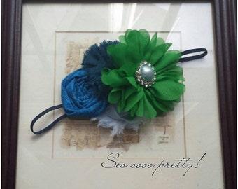 Bella rosettes headband