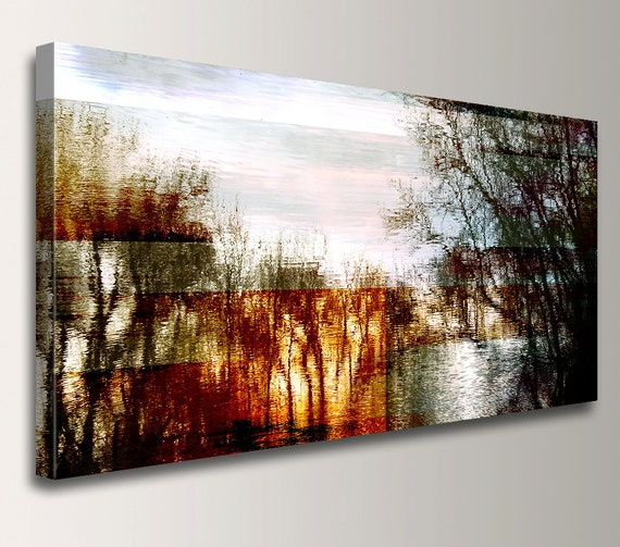 "Abstract Landscape - Photography - Canvas Print - Panoramic Wall Art - Mixed Media Art - ""Good Friday"""