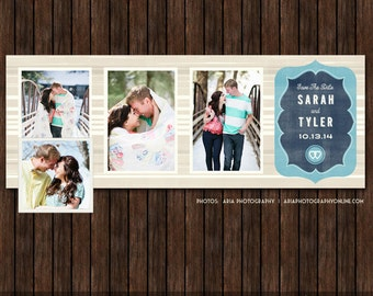 Save The Date Facebook Timeline Cover - FB16