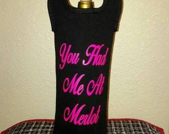 Wine bottle carrier