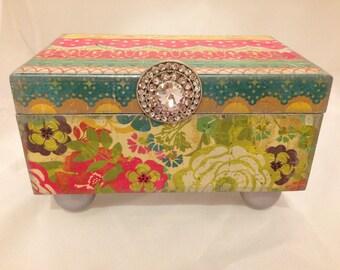 Multi Colored Decorative Box