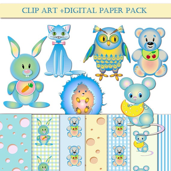 animals clipart pack - photo #34