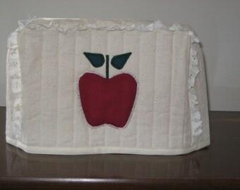 2 Slice Toaster Cover Apple Design