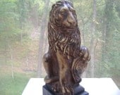 Guardian Lion Figurine Statue Sculpture Home Decor
