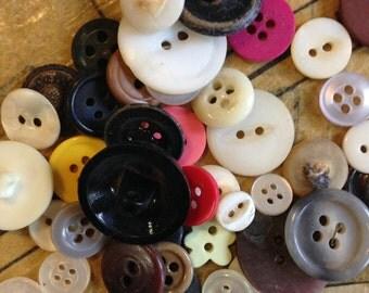 Bag of Vintage Buttons