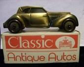 Car Bank 1936 Cord