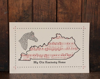 popular items for my old kentucky home on etsy