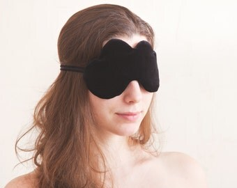 Black Cloud Sleep Mask