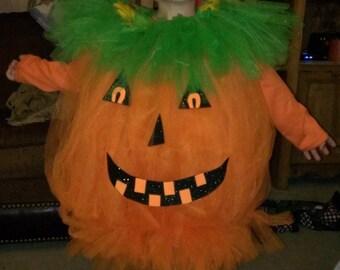 Pumpkin costume, pumpkin outfit