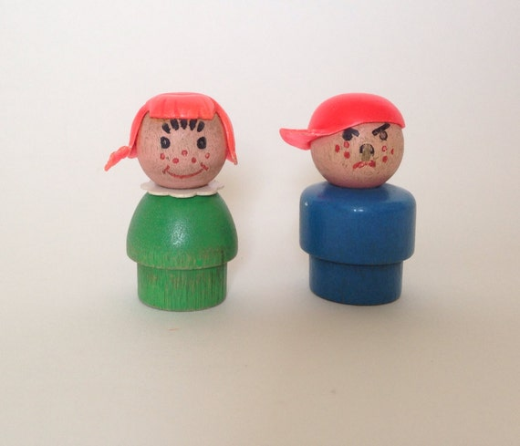 Fisher Price wooden Little People