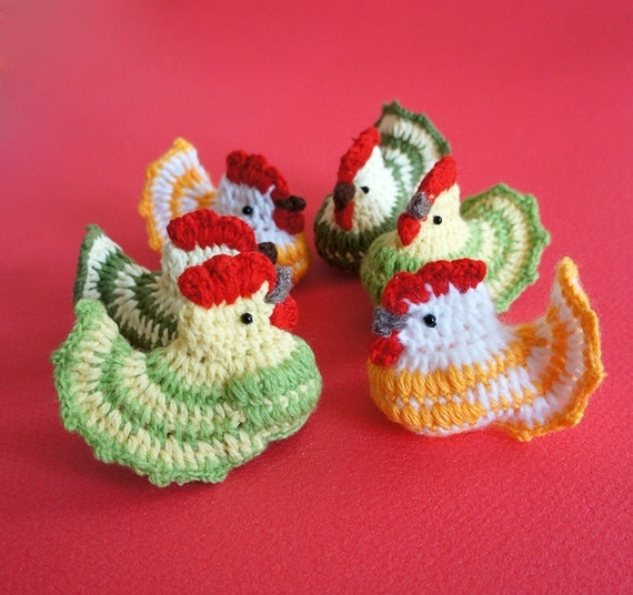 Easter Crochet Patterns For Beginners : Crochet pattern Easter Crochet Chicken by Zofija