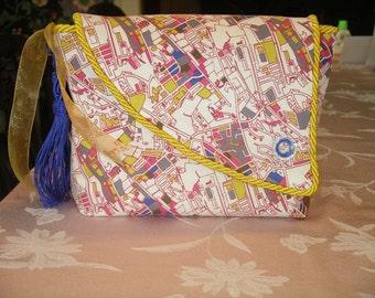 City Map Clutch Bag