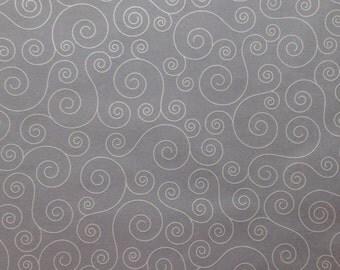 One Elegant Sheet of White Swirls Vellum 8.5 x 11