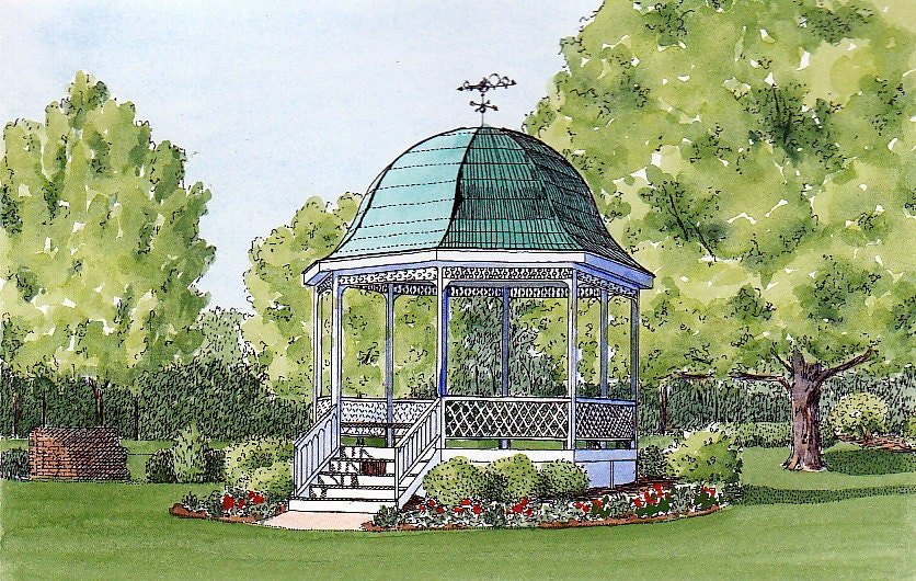 Terrace park gazebo in terrace park ohio for Terrace gazebo