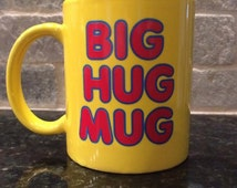 Big Hug Mug Ceramic Yellow Coffee Cup