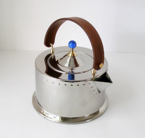 Vintage Bodum CJorgensen Tee Wasserkocher Ottoni Inox 188 ~ Wasserkocher Tee