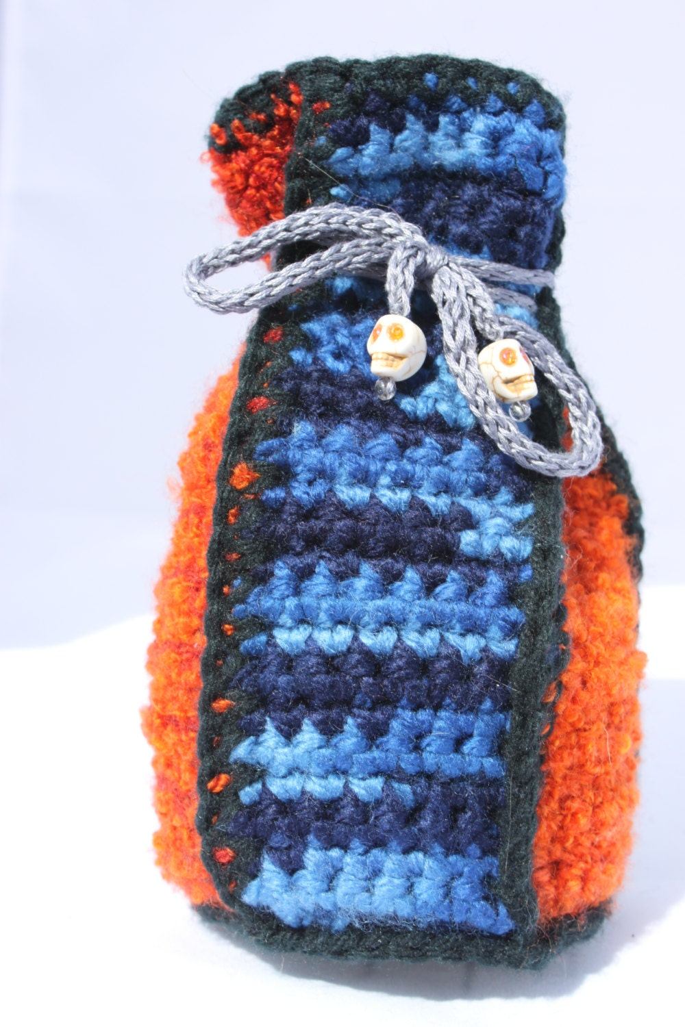 Dragon Dice Bag Crochet Pattern : Harry Dresden Crocheted drawstring dicebag dice bag by ...