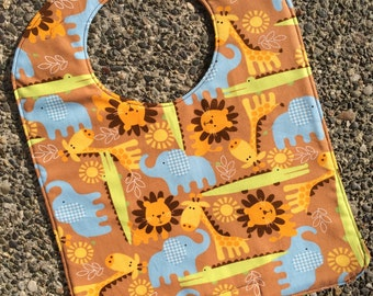 TODDLER BIB: Its a Jungle Out There, Personalization Available
