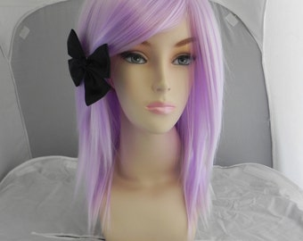Medium Straight Layered Wig - Beautiful Luscious Hair, Lavender Wig, Cosplay Wig, Costume Wig, Pastel Purple