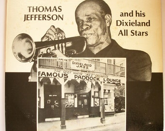 Thomas Jefferson and His Dixieland All Stars - If I could be with you (Signed)