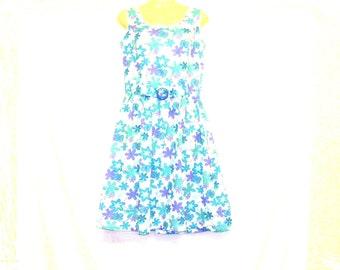 Circle Dress, Tea Dress, Womens Dress, Swing Dress, Floral Dress, Size 10, Size 8, By Rebeccas Clothes