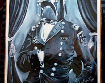 Civil War Boba Fett print