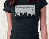 Forest Spirit Friends Movie TShirt Cute 100% cotton shirt Men Women Kids Geek Gift Great Christmas gift