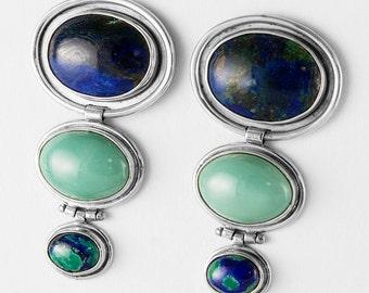 Ocean Inspired Post Earrings