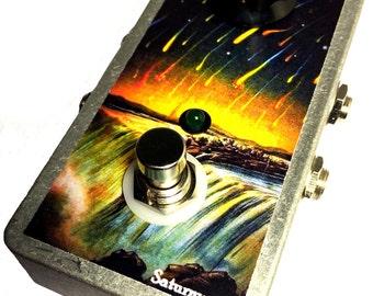 Saturnworks Active Blender True Bypass Loop Looper Guitar Pedal
