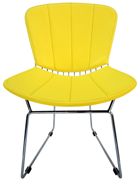 full cushion back pad for bertoia side chair vinyl many colors