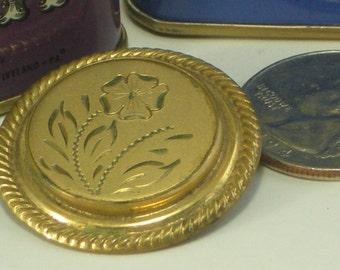 Flower Cap Brooch