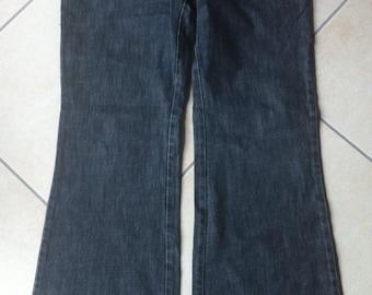 Denim Gucci pants