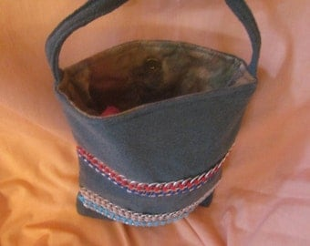Recycled Materials Shoulder Bag