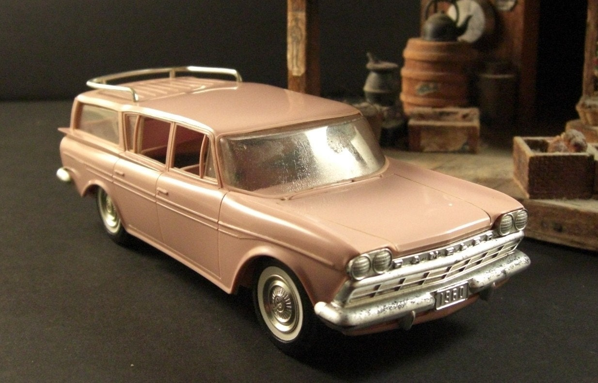 1960 Rambler Station Wagon Dealer Promotional By Successionary